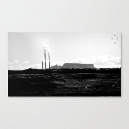 Smokey Horizons Canvas Print