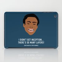inception iPad Cases featuring I Didn't Get Inception! by She's That Wallflower