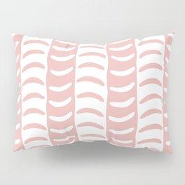 Wavy Stripes Dusty Rose Pillow Sham