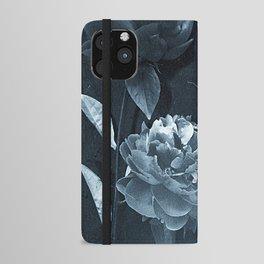 Blue Peonies iPhone Wallet Case