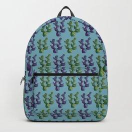 Beautiful watercolor cactus Backpack