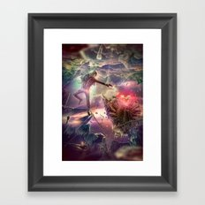 The Heart of Darkness Framed Art Print