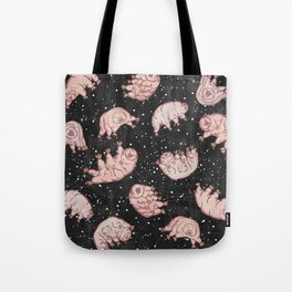 Tardigrades in Space Tote Bag