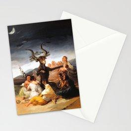 Francisco de Goya - Witches Sabbath (El Aquelarre) 1798 Artwork for Wall Art, Prints, Posters, Tshir Stationery Cards
