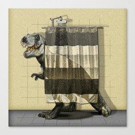 I want to take a bath Canvas Print