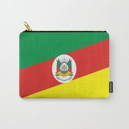 flag of rio grande do sul Carry-All Pouch