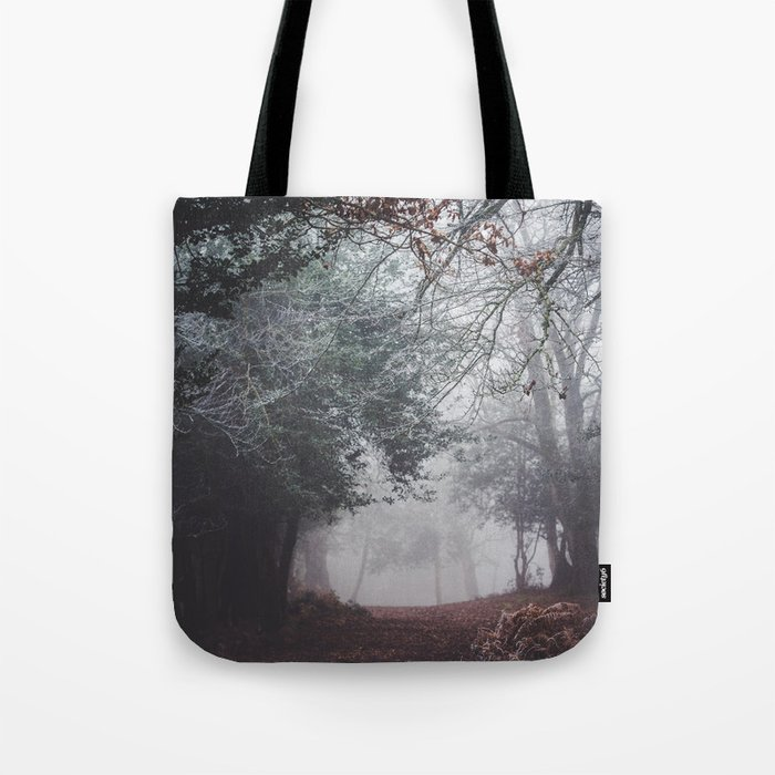 Frosty path Tote Bag