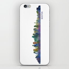 Boston Massachusetts City Skyline Hq V1 iPhone Skin
