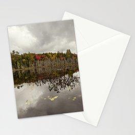 a pond Stationery Cards
