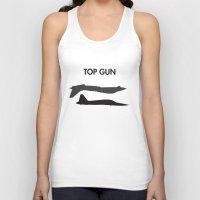 top gun Tank Tops featuring Top Gun  by NotThatMikeMyers