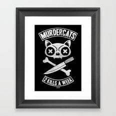 Murdercats Framed Art Print