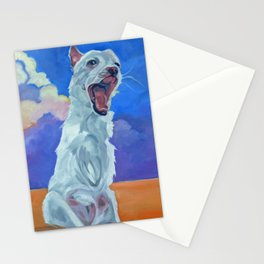 Special Needs Pippin Dog Portrait Stationery Cards