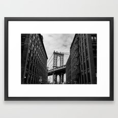 New York Love Framed Art Print