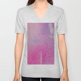 Pink Wash Unisex V-Neck