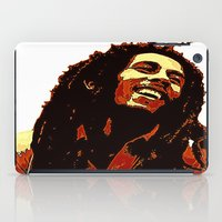reggae iPad Cases featuring the god of reggae by  Agostino Lo Coco