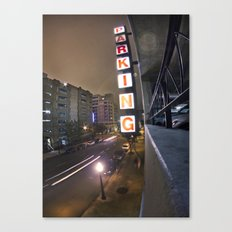 Up A Level Canvas Print
