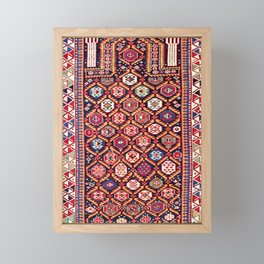 Daghestan Northeast Caucasus Niche Rug Print Framed Mini Art Print