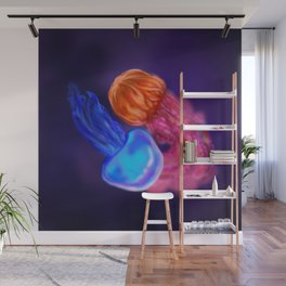 Two lovers Wall Mural