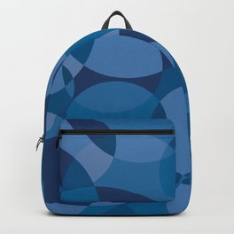 Blue Circles Backpack