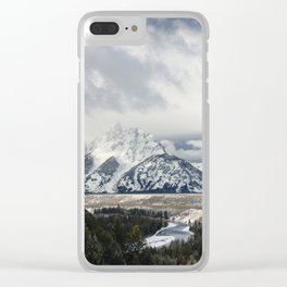 Snake River Wyoming Clear iPhone Case