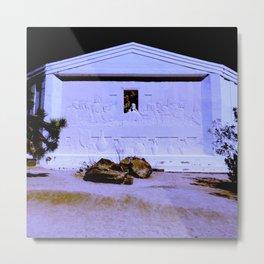 Desert Christ Park, Joshua Tree, CA — The Last Supper Metal Print