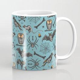 Halloween X-Ray Blue Coffee Mug