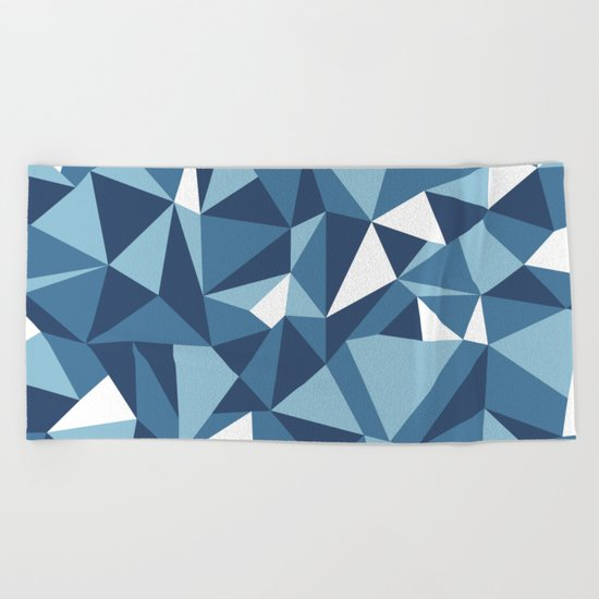 Ab Blues Beach Towel