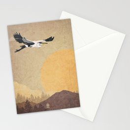 Heron (Garza Mora) Stationery Cards
