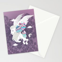 Flying Lion of Venice Stationery Cards