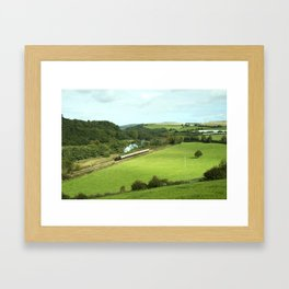 Dart Valley Steam  Framed Art Print