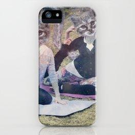 Catasana in Space  iPhone Case