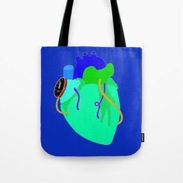 Countdown Heart Tote Bag