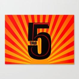 top 5 Canvas Print