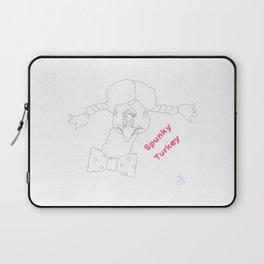 Spunky Turkey No Color TX Laptop Sleeve