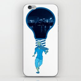 Lights! (at night) iPhone Skin