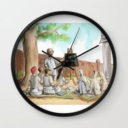 Punjabi village school Wall Clock