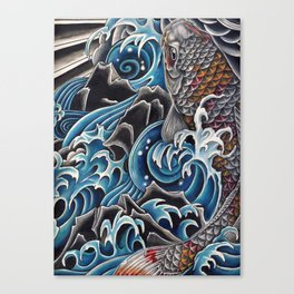 Koi by Sebastian Orth Canvas Print
