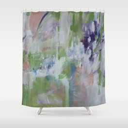 the wolf and the deer Shower Curtain