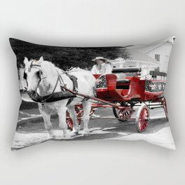 Carriage Ride photography Rectangular Pillow