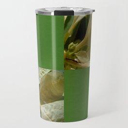Pale Yellow Poinsettia 1 Blank Q5F0 Travel Mug
