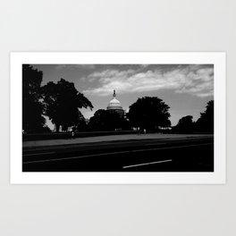 Guarding the Capitol Art Print
