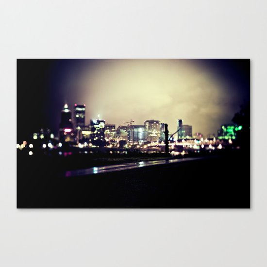 pdx Canvas Print