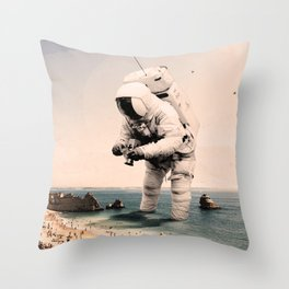 The Speculator Throw Pillow