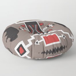 American Native Pattern No. 161 Floor Pillow