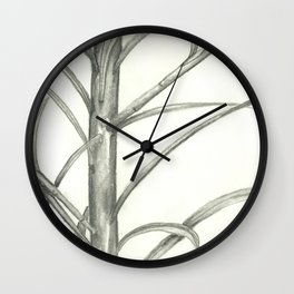 The Peaceful Little Sapling Wall Clock