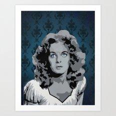 Maureen O'Hara Art Print
