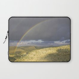 """If you want the RAINBOW you've got to deal with the rain"" Laptop Sleeve"