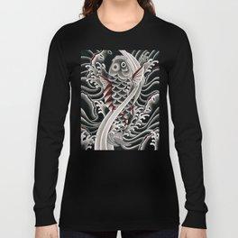 Japanese tattoo style Koi Long Sleeve T-shirt