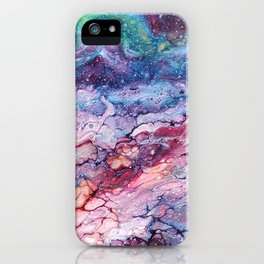 Rainbow Dream Groovy Flow #22 iPhone Case