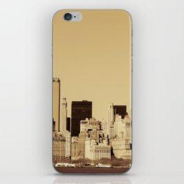 New York Cityscape iPhone Skin